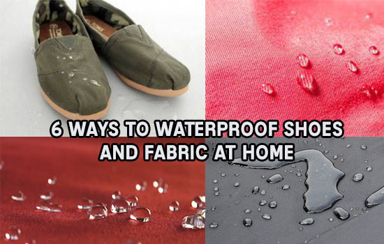 6-Ways-To-Waterproof-Shoes-and-Fabric-At-Home