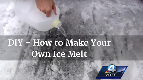 DIY - How to Make Your Own Ice Melt