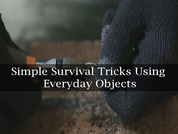 simple trick using daily use object